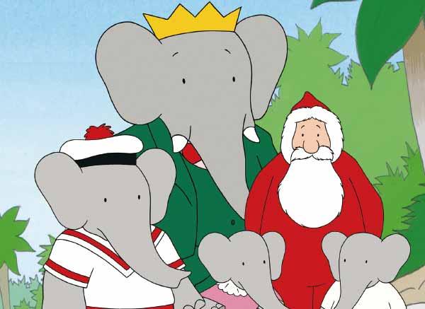 大象巴巴与圣诞老人