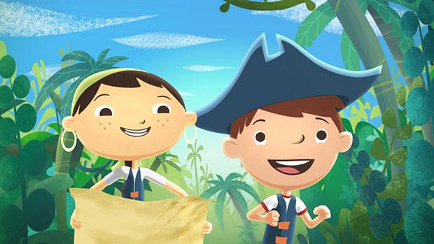 每一个孩子都能在这4部动画片中找到梦想和快乐!