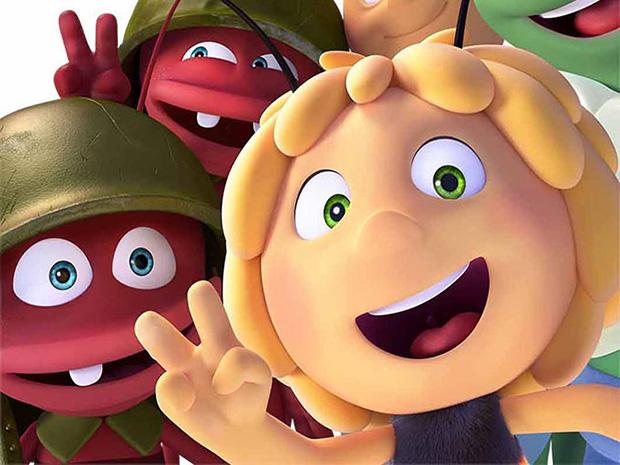 《小蜜蜂玛雅》的最新动画电影即将在法国上映
