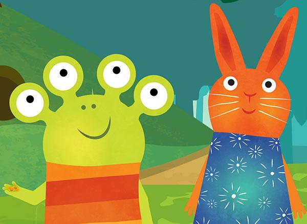 兔子汪达与外星人