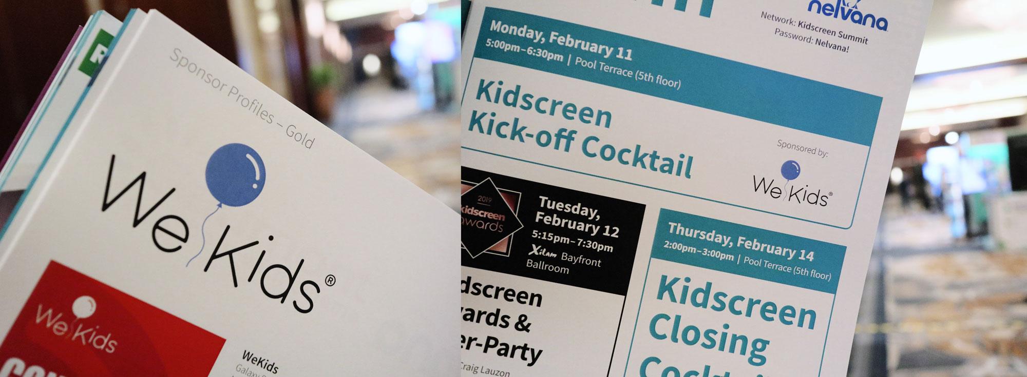 新战略全线启动,万童时代WeKids出征Kidscreen Summit 2019